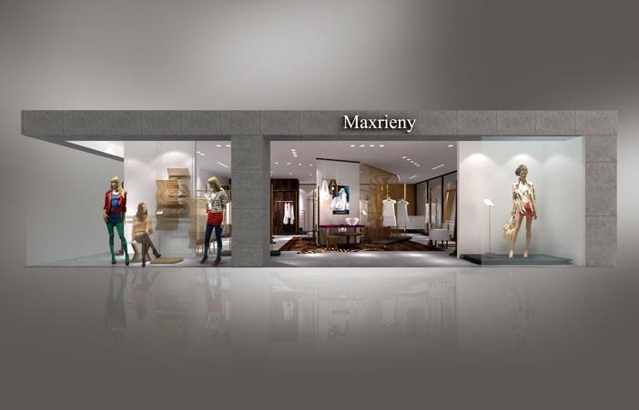 北欧风格装修30平米服装店面